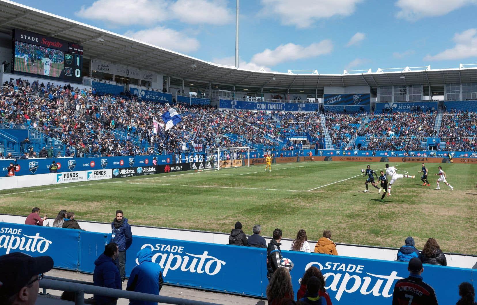 L'Impact ne jouera pas au stade Saputo avant son cinquième match cette saison.