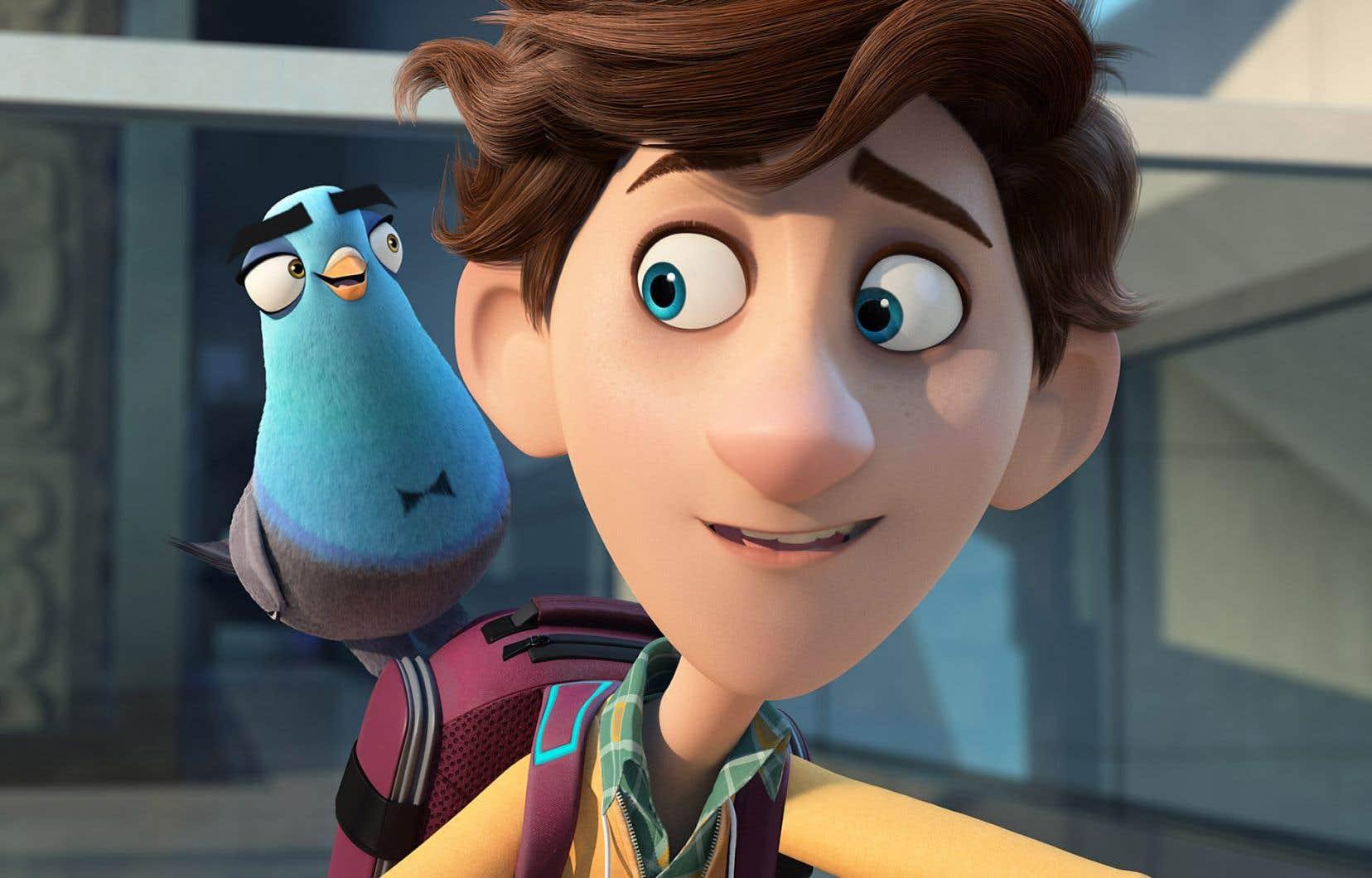 Petits et grands n'auront aucun problème à s'abandonner aux moments touchants et aux plaisanteries du film d'animation <em>Espions incognito</em>.