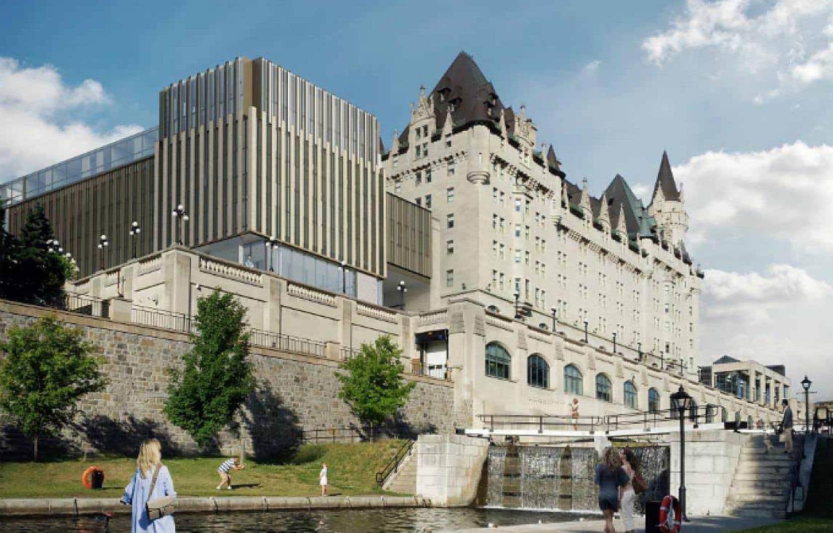 Le conseil municipal d'Ottawa a donné son approbation finale, en juillet, à la construction d'une annexe très controversée.
