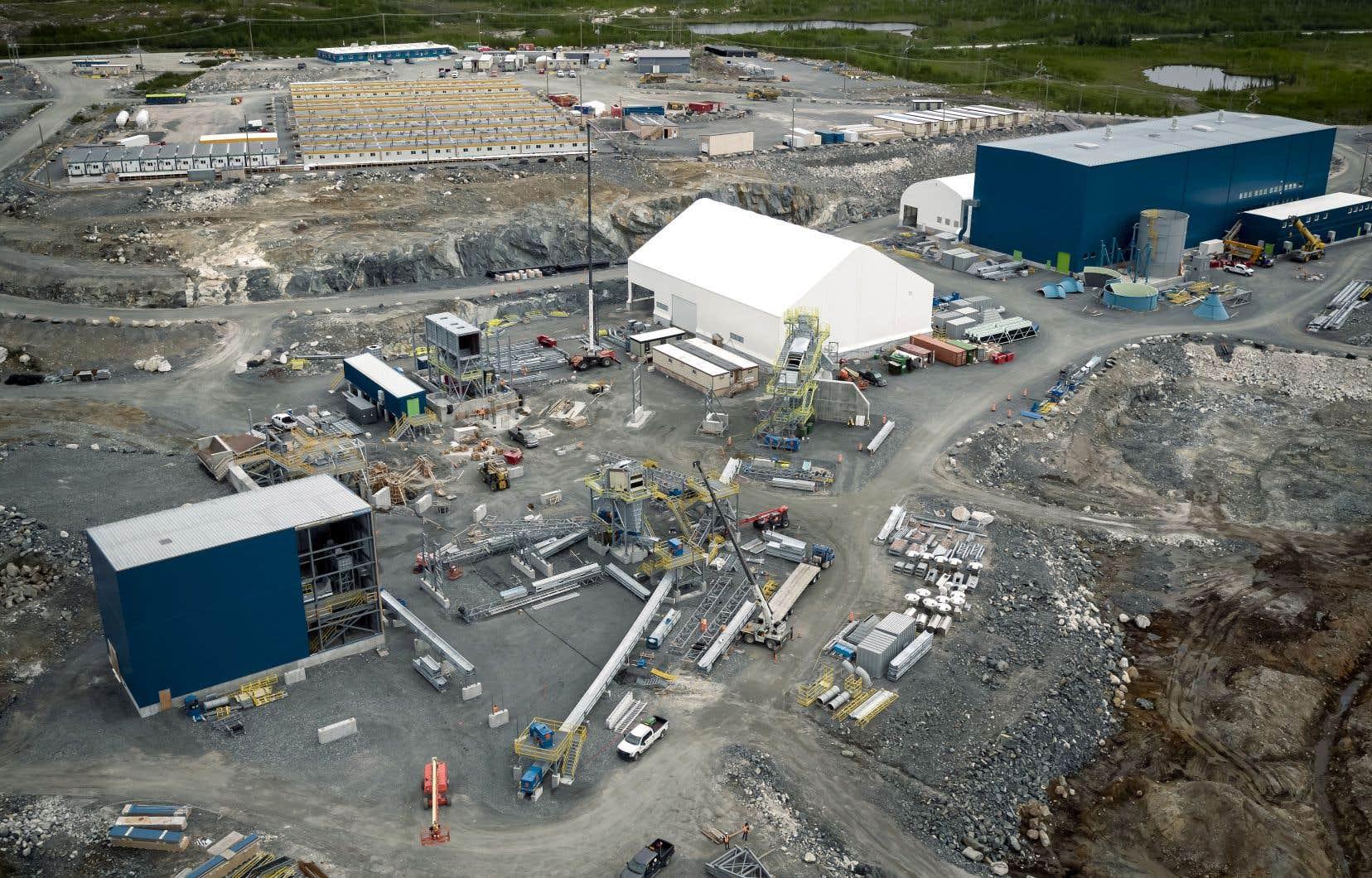 Les travaux du projet Whabouchi de Nemaska Lithium dans le Nord-du-Québec ont été suspendus pour contrôler le niveau des liquidités.