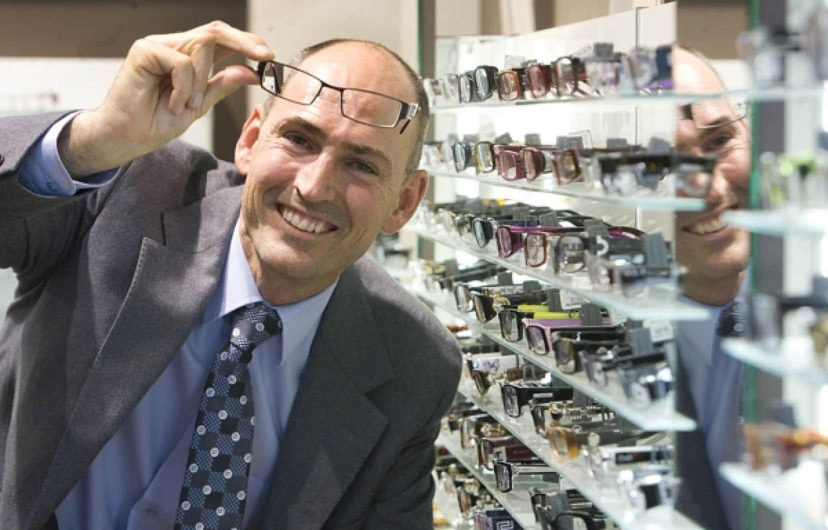 Martial Gagné, président de New Look depuis 2008, est associé à l'entreprise depuis 2001. <br />
