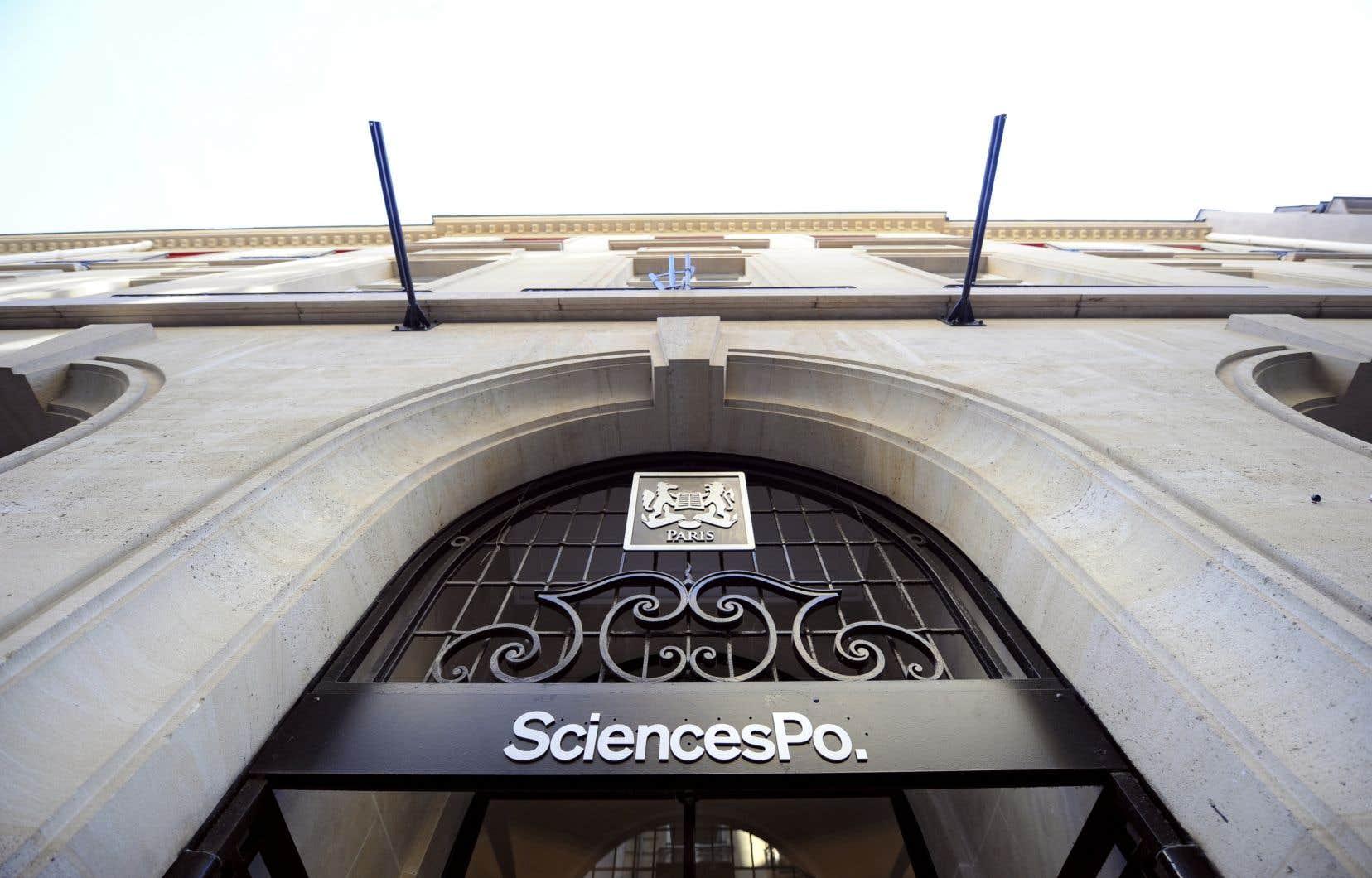 L'université Sciences Po Paris