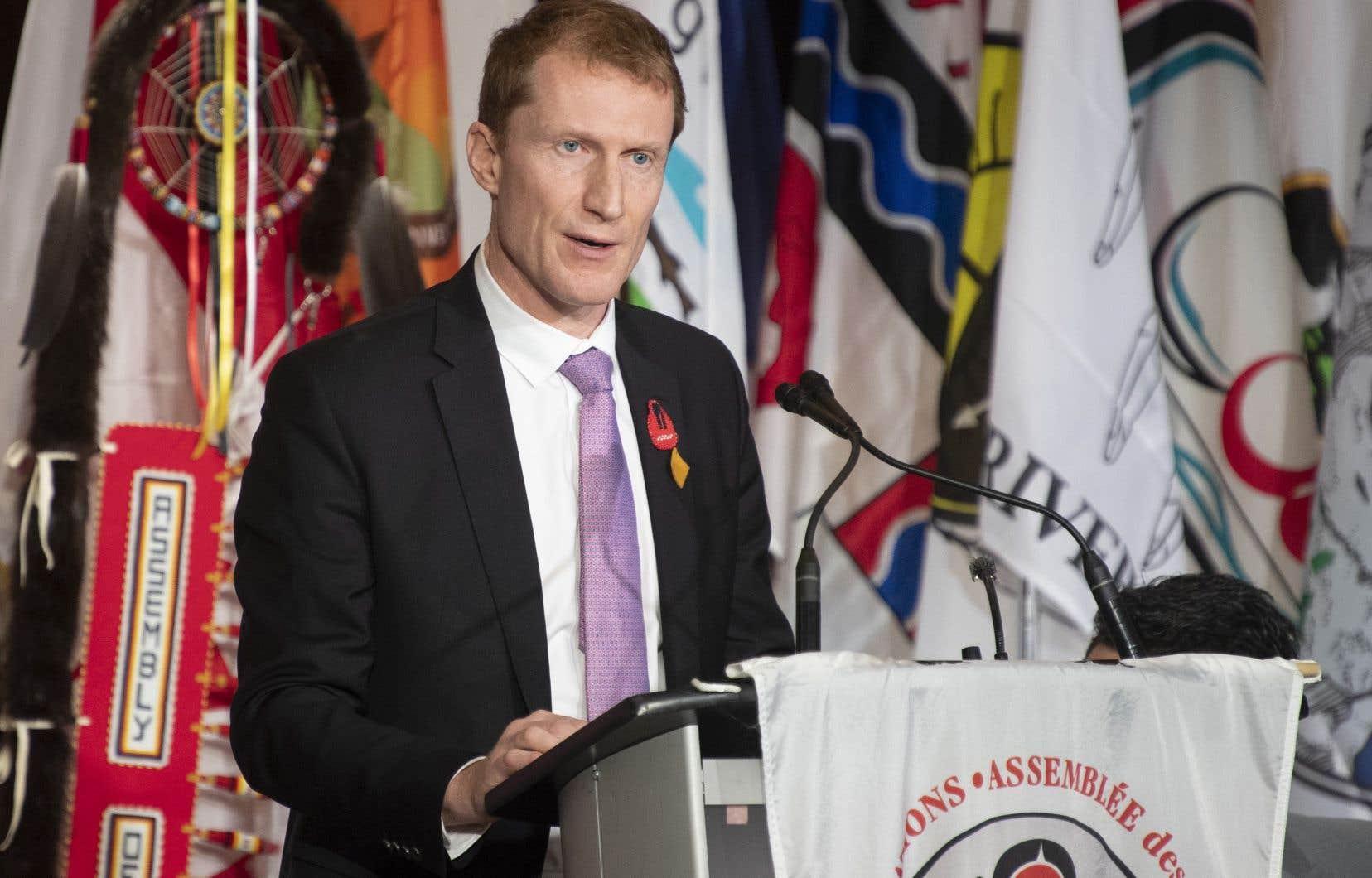« Le système actuel, qui est défectueux, sera maintenu pendant un certain temps», a déclaré le ministre fédéral des Services aux Autochtones, Marc Miller.
