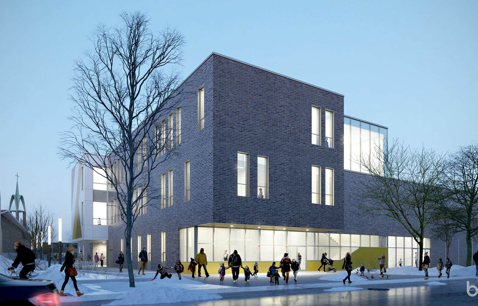 La nouvelle école Sainte-Lucie, dont les plans viennent tout juste d'être présentés aux élèves, aux parents et au personnel, doit être prête pour la rentrée de septembre 2021.