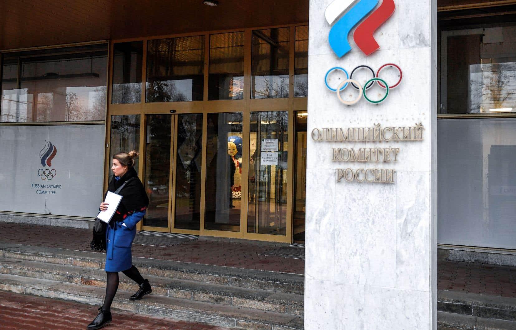 L'AMA a interdit l'utilisation du nom et du drapeau de la Russie dans toutes les compétitions sportives d'envergure pendant quatre ans, y compris aux Jeux Olympiques.