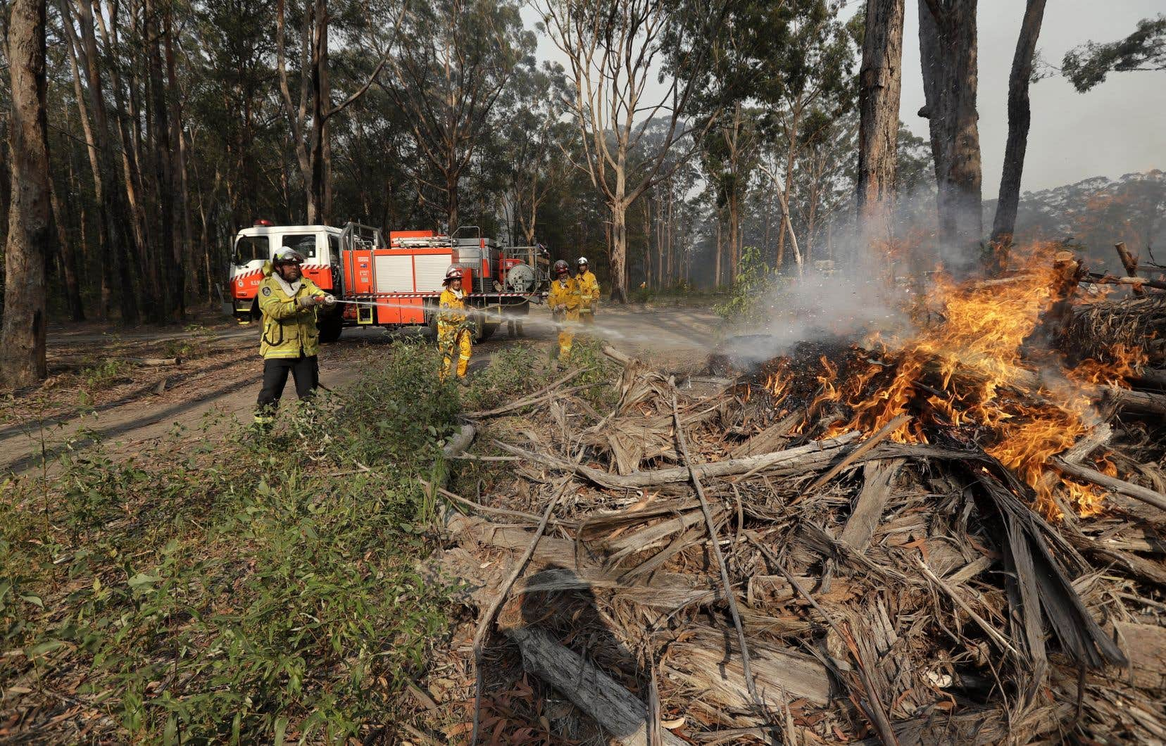 Dans le sud-est de l'Australie, où les feux brûlent avec le plus d'intensité ces derniers jours, une sécheresse perdure depuis janvier 2017.