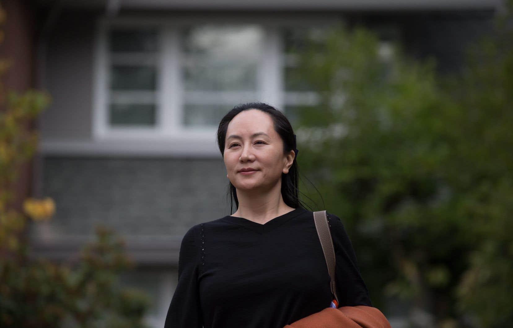Meng Wanzhou est en liberté sous caution et vit dans l'une de ses deux luxueuses maisons de Vancouver.