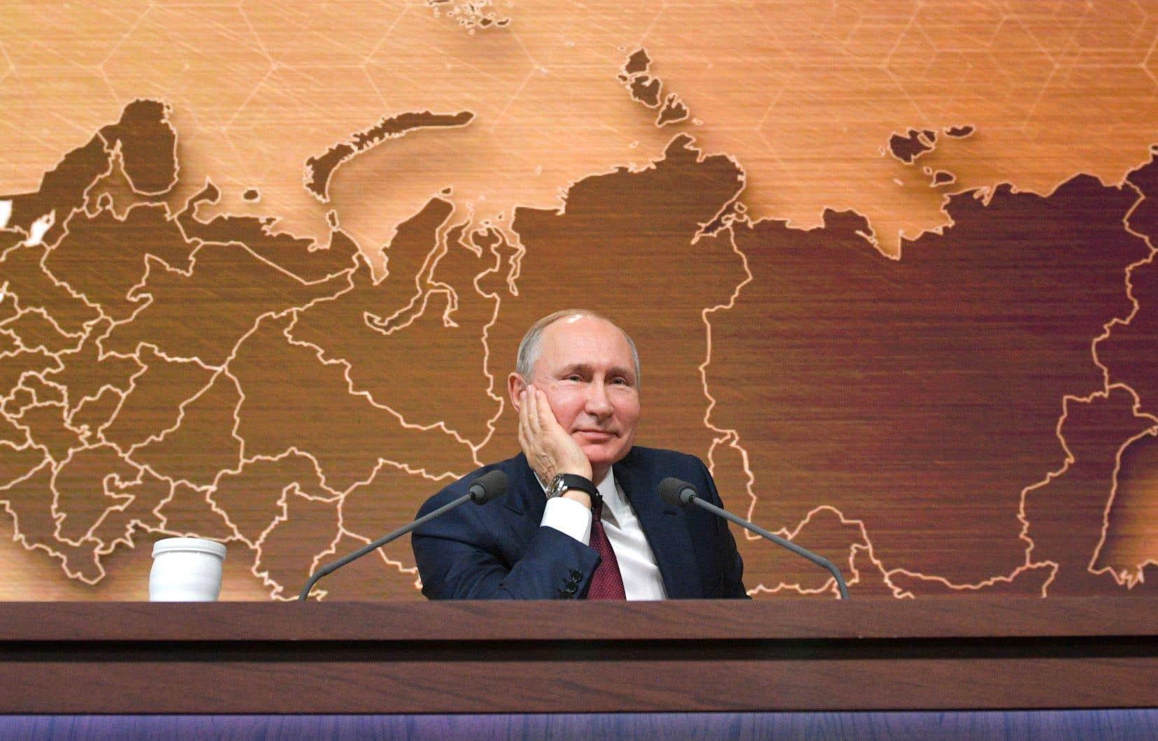 Le président russe, Vladimir Poutine, en décembre dernier