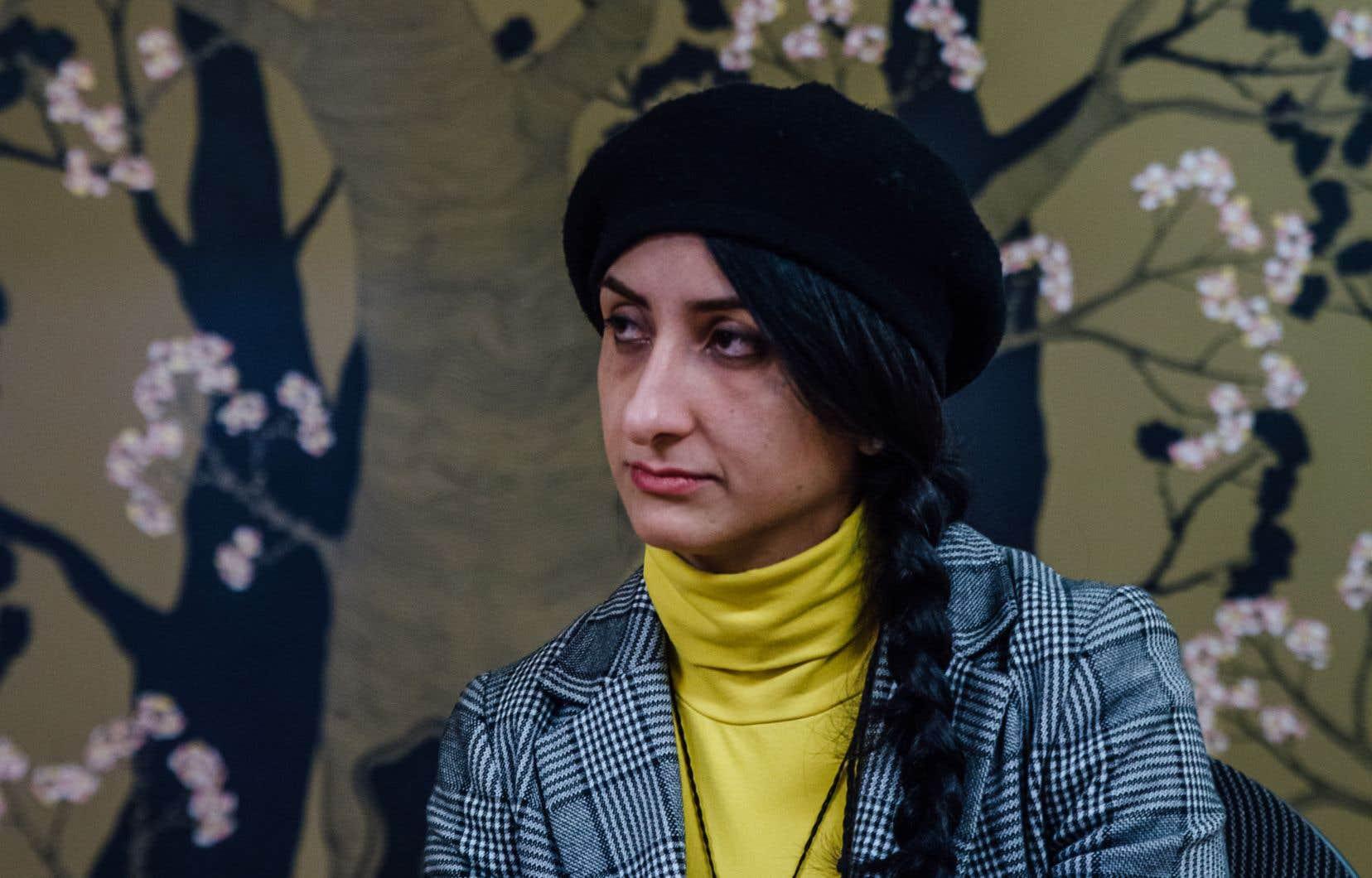 Leila Ghaffari, une des organisatrices de la manifestation de dimanche à Montréal, espère un retour au calme.