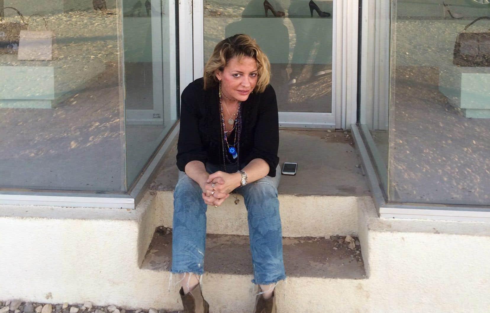 L'écrivaine américaine Elizabeth Wurtzel, en 2016