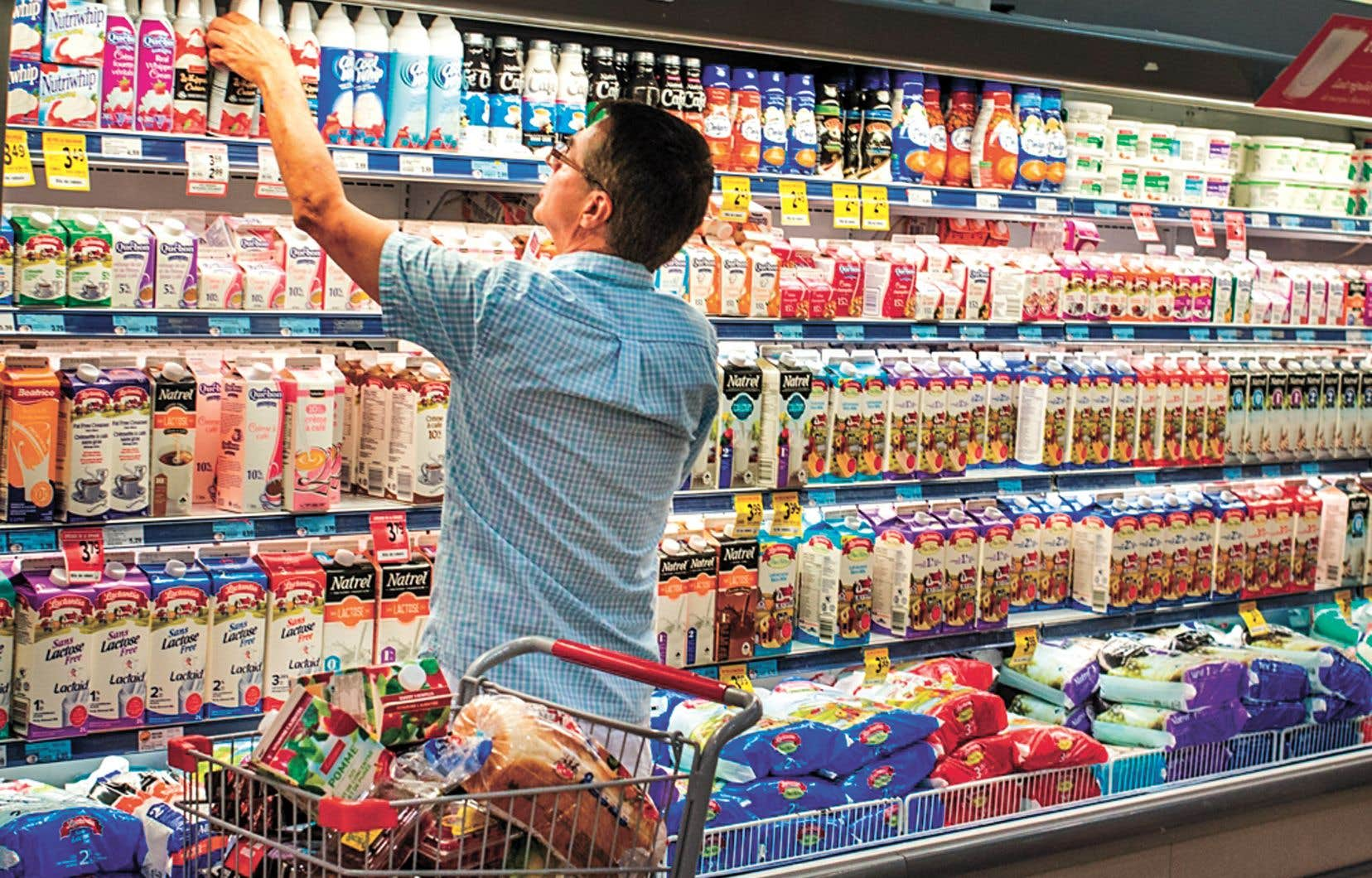 Seule la distribution des aliments frais et congelés, qui concerne 550 travailleurs à Boucherville, n'est pas touchée par le regroupement et l'automatisation décidés par la direction.