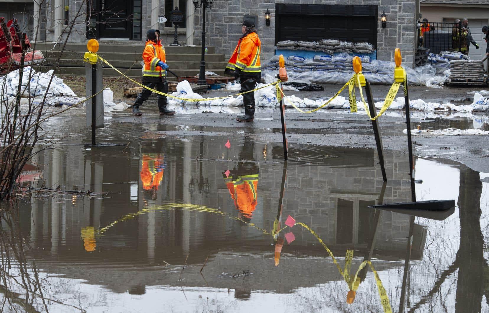 En avril dernier, plusieurs arrondissements montréalais, dont L'Île-Bizard–Sainte-Geneviève, ont été le théâtre d'inondations majeures.