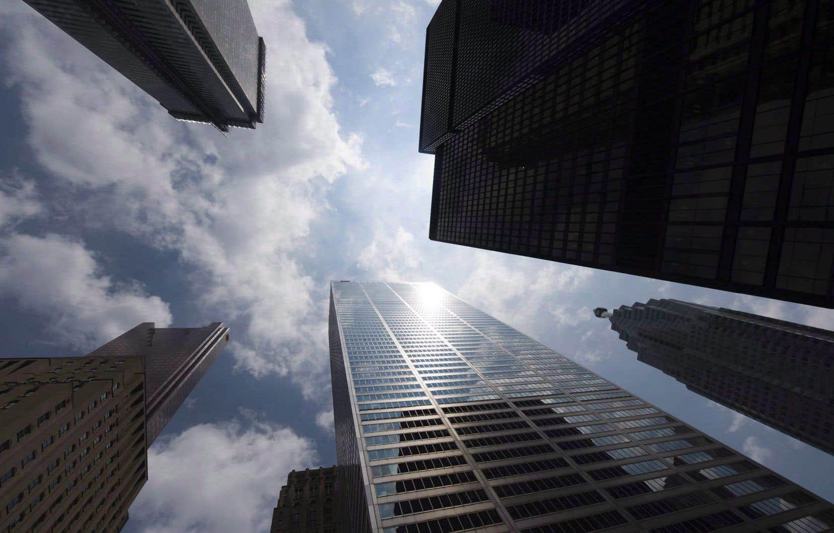 Les discussions se déroulaient dans le cadre de la Conférence des chefs de la direction des banques canadiennes à Toronto.