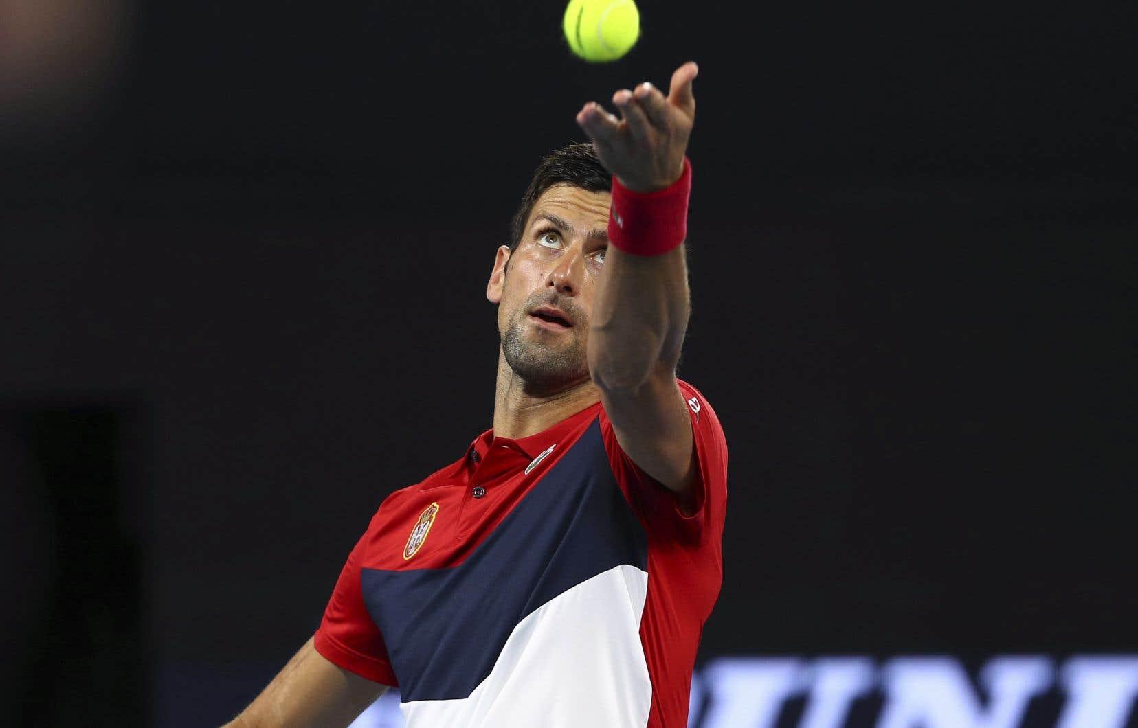 Novak Djokovic, président du Conseil des joueurs de l'ATP et no2 mondial