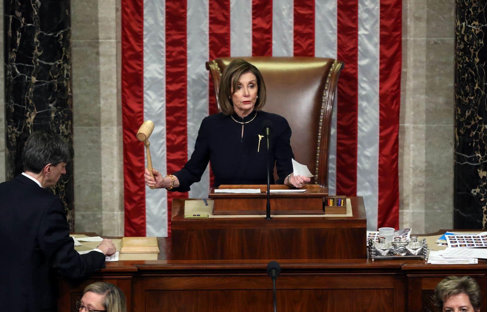 La chef des démocrates, Nancy Pelosi