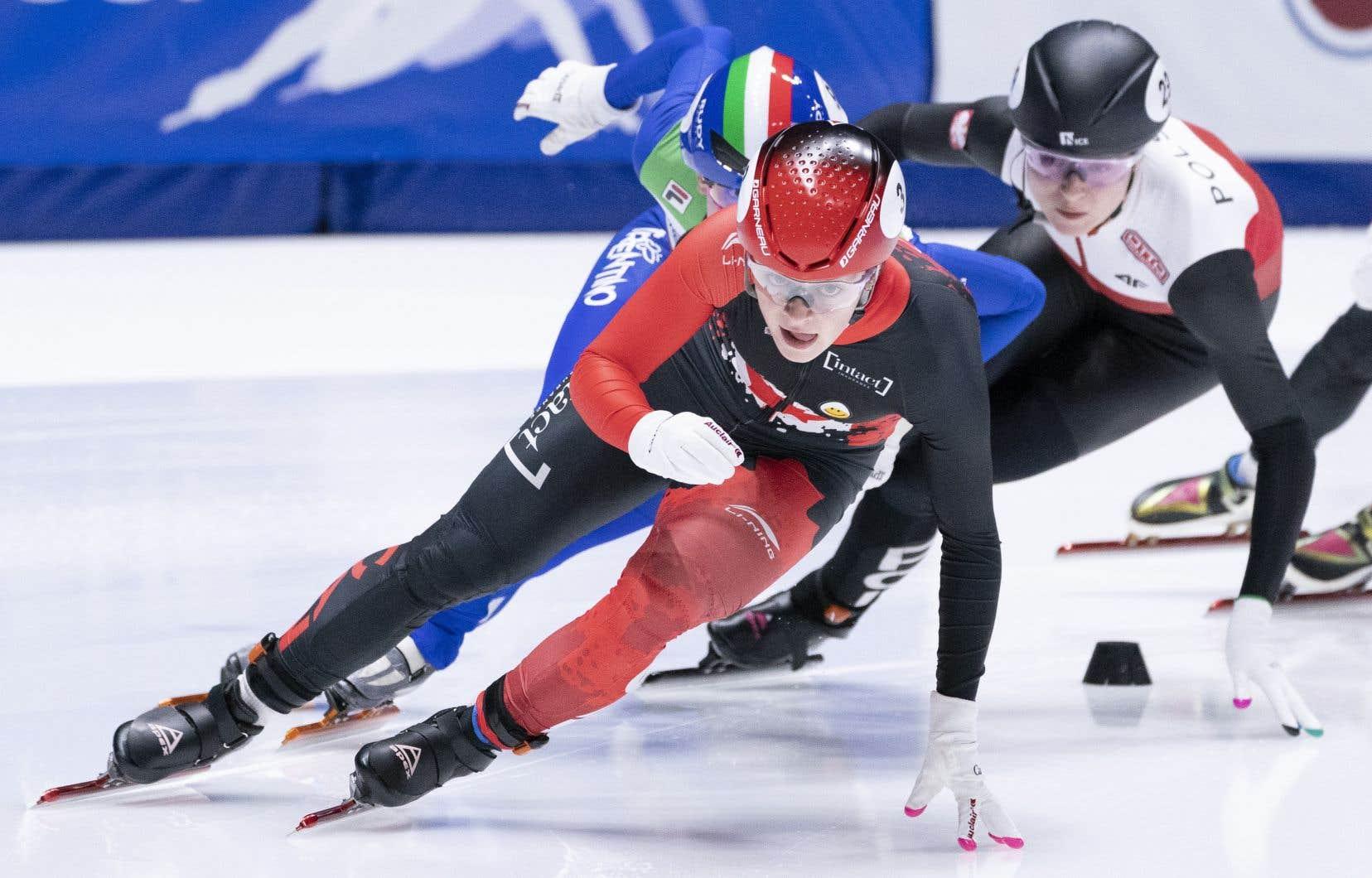 Kim Boutin avait décroché la médaille d'or au 500 mètres à la Coupe du monde de patinage de vitesse courte piste qui s'est déroulé à Montréal en novembre dernier.