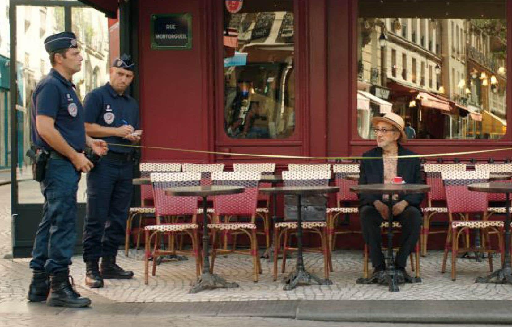 Elia Suleiman (à droite), depuis trop longtemps absent, revient devant la caméra dans «C'est ça le paradis?».