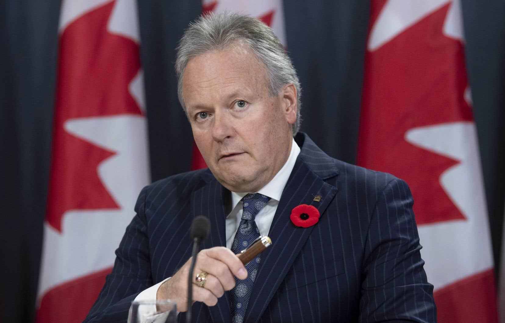 Le gouverneur de la Banque du Canada, StephenPoloz