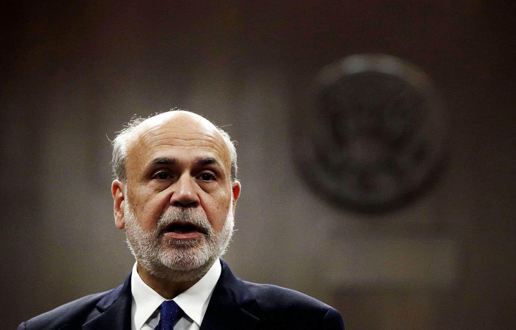 L'ancien président de la Fed, Ben Bernanke, estime que la Réserve fédérale américaine dispose déjà de tous les moyens nécessaires pour répondre à l'inévitable fin de la plus longue période de croissance économique ininterrompue de l'histoire des États-Unis.