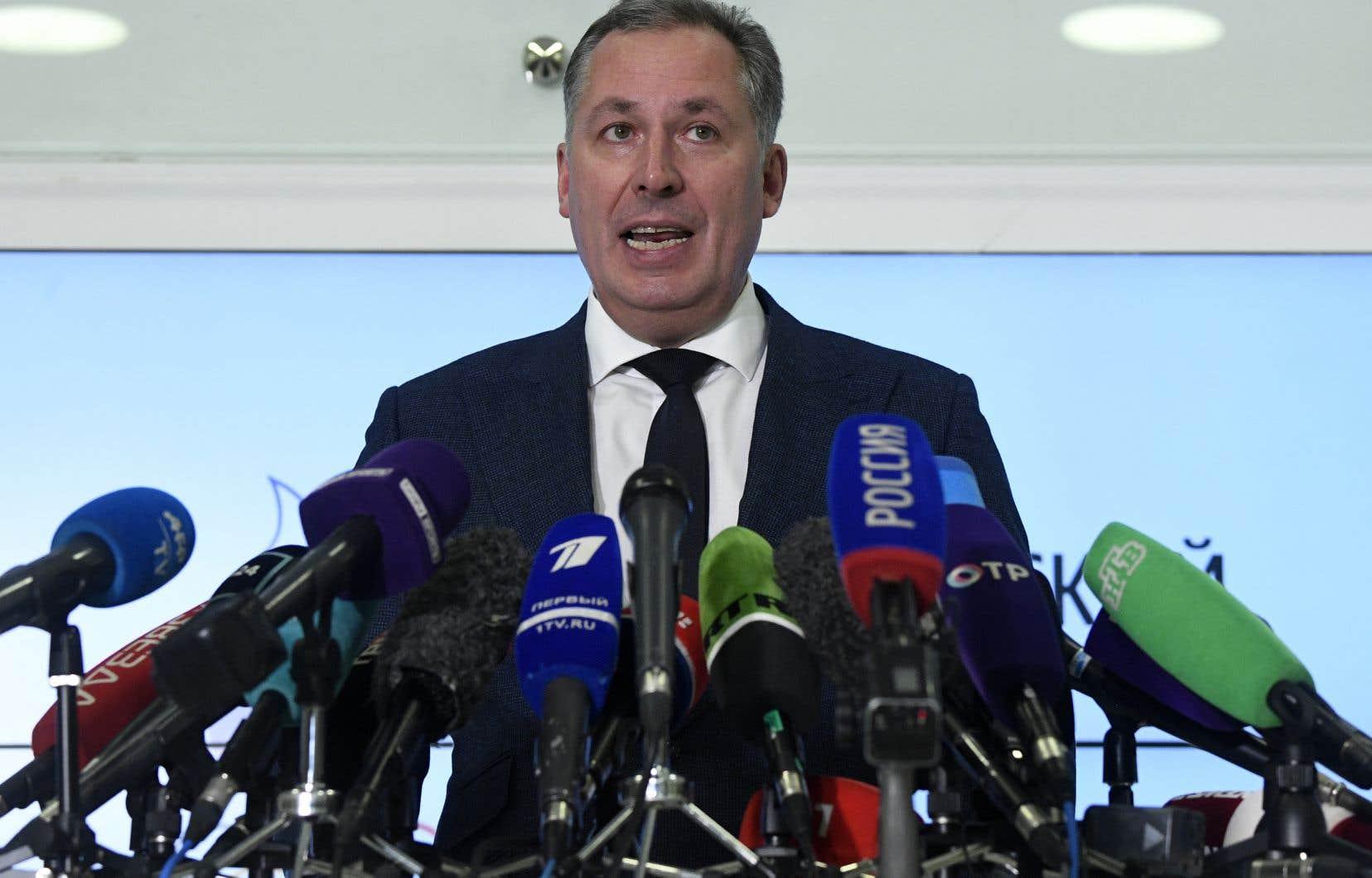 «Nous espérons un jugement honnête et équitable», a fait valoir le président du Comité olympique russe, Stanislav Pozdnyakov.