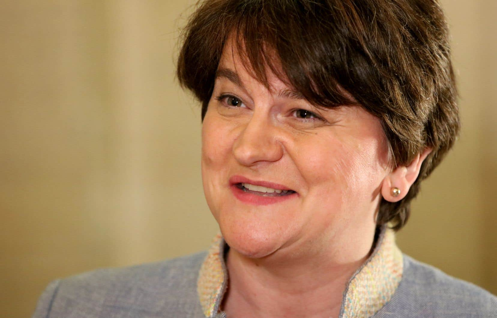 La cheffe du parti unioniste DUP, Arlene Foster