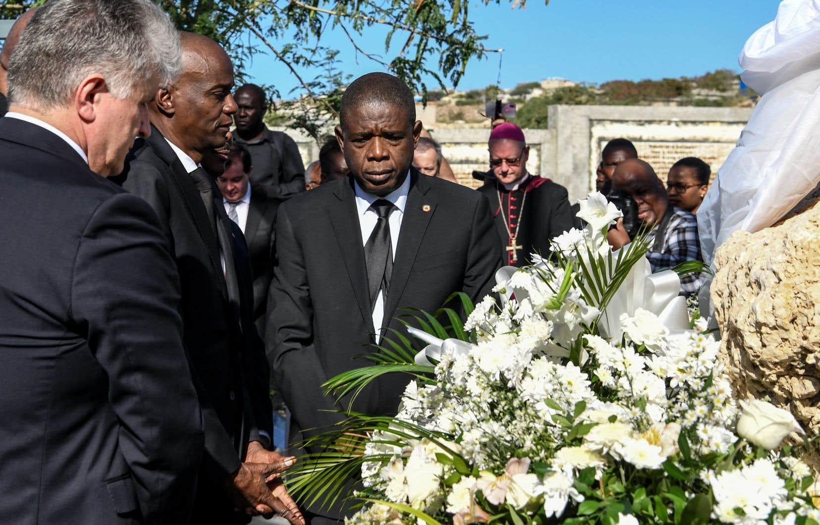 Le président haïtien, Jovenel Moïse, a participé à une commémoration au mémorial du séisme, érigé sur le site où des milliers de victimes ont été enterrées dans des fosses communes.