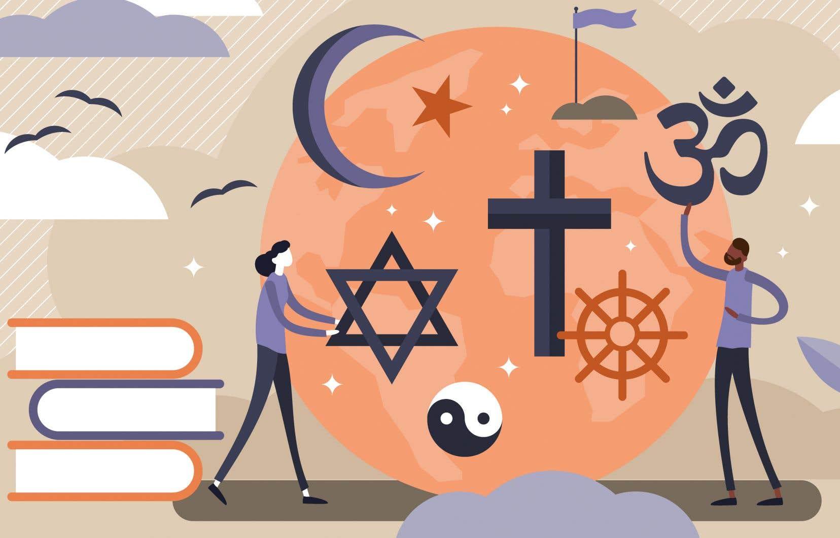 «Enseigner les religions à des musulmans, des bouddhistes, des pentecôtistes et des hindouistes, pour des professeurs d'ordinaire athées et qui ont tout juste le temps pour préparer leurs cours à leurs élèves du primaire a quelque chose d'assez désespérant», estime l'auteur.