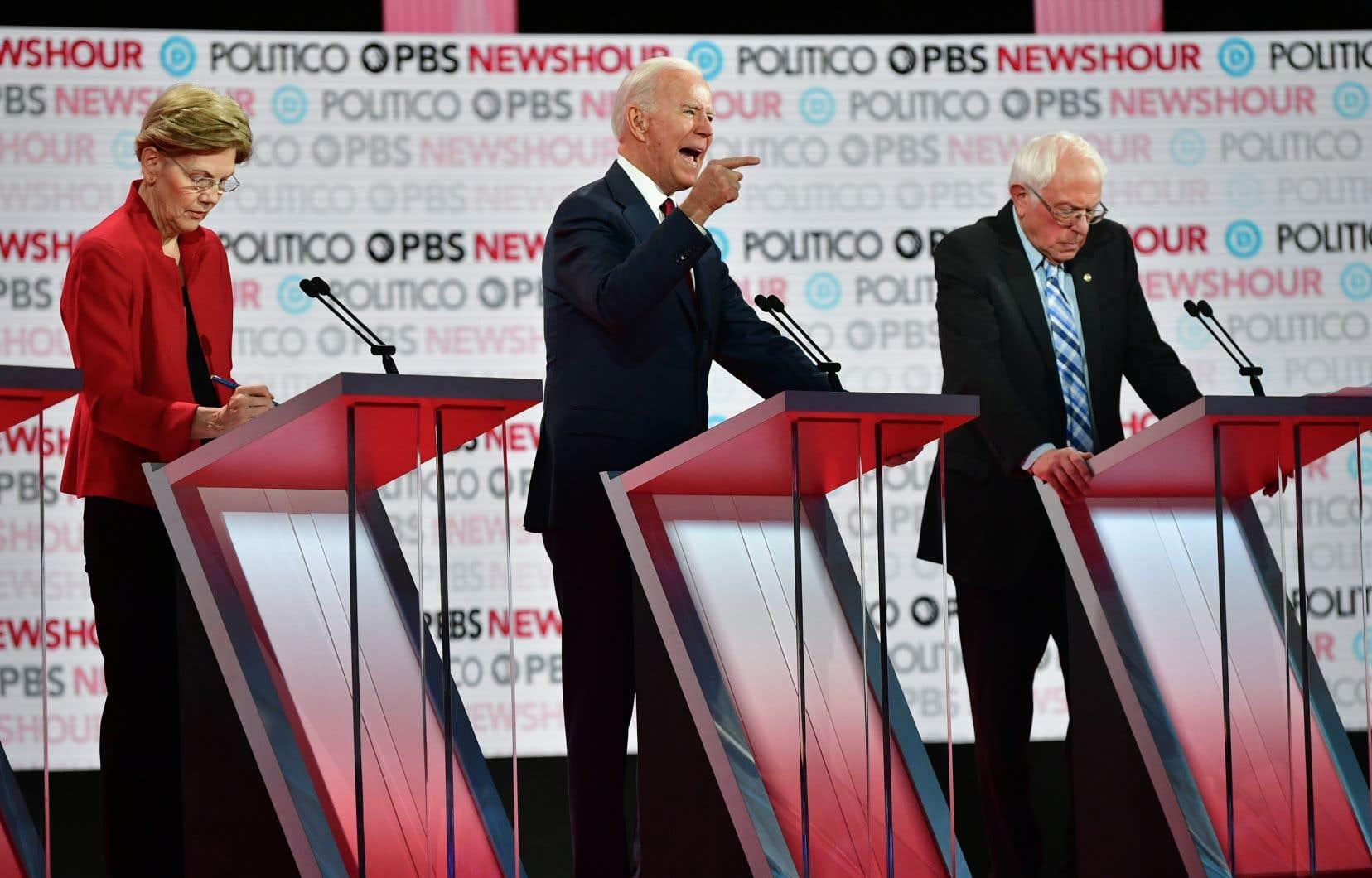 Six candidats à l'investiture démocrate—dont Elizabeth Warren, Joe Biden et Bernis Sanders—pour la présidentielle américaine s'affronteront mardi soir lors du dernier débat télévisé.