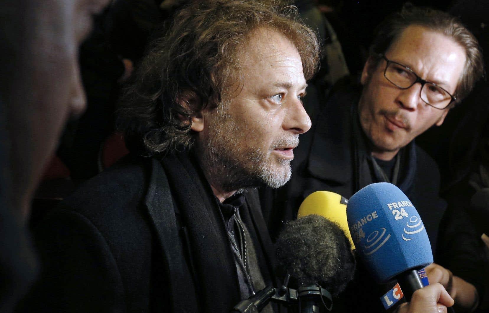 Le réalisateur Christophe Ruggia, photographié en 2015