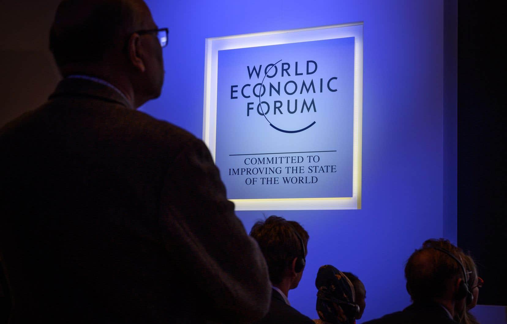 Le Forum de Davos se tiendra dans la station de ski des Alpes suisses du 21 au 24janvier.