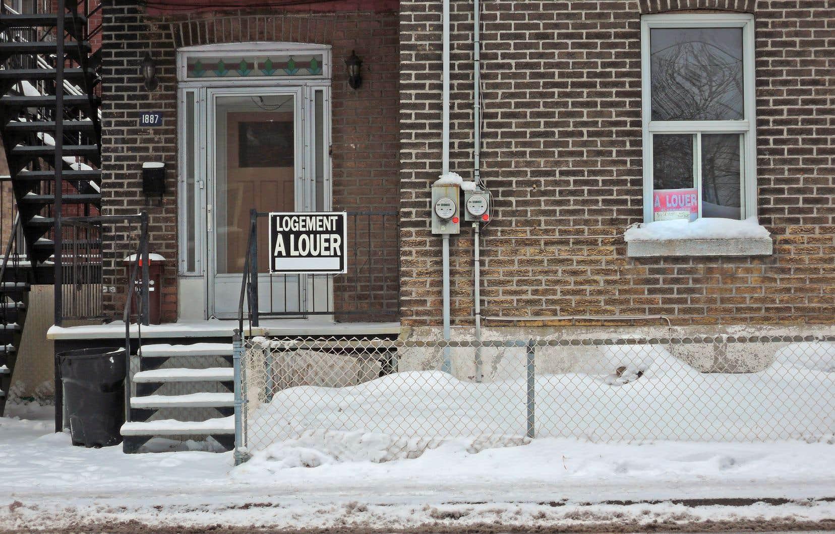 À Montréal — comme dans d'autres villes du Québec — la demande dépasse largement l'offre, et ce malgré l'ajout sur le marché de milliers d'appartements locatifs.