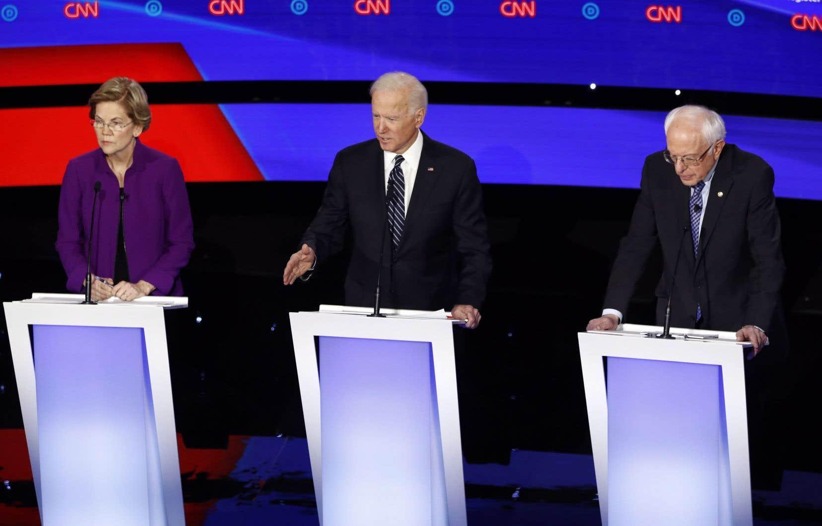 Elizabeth Warren et Bernie Sanders seront coincés à Washington, ce qui pourrait profiter à Joe Biden.