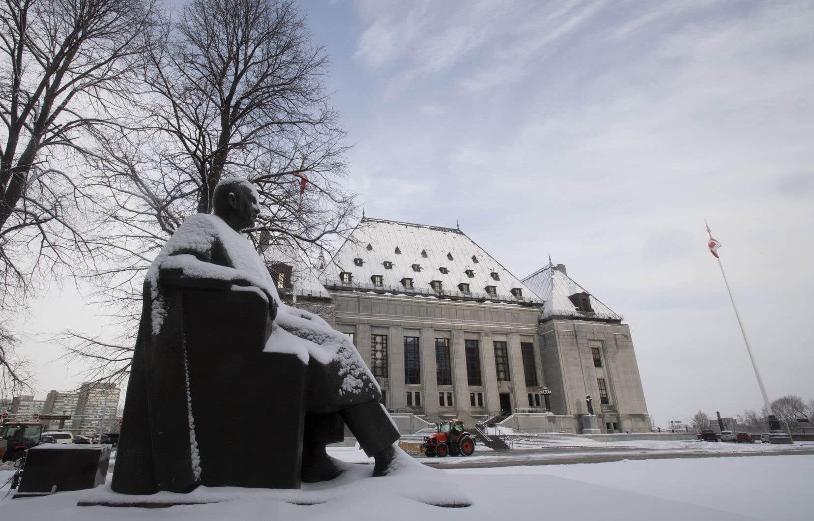 L'édifice de la Cour suprême du Canada, à Ottawa