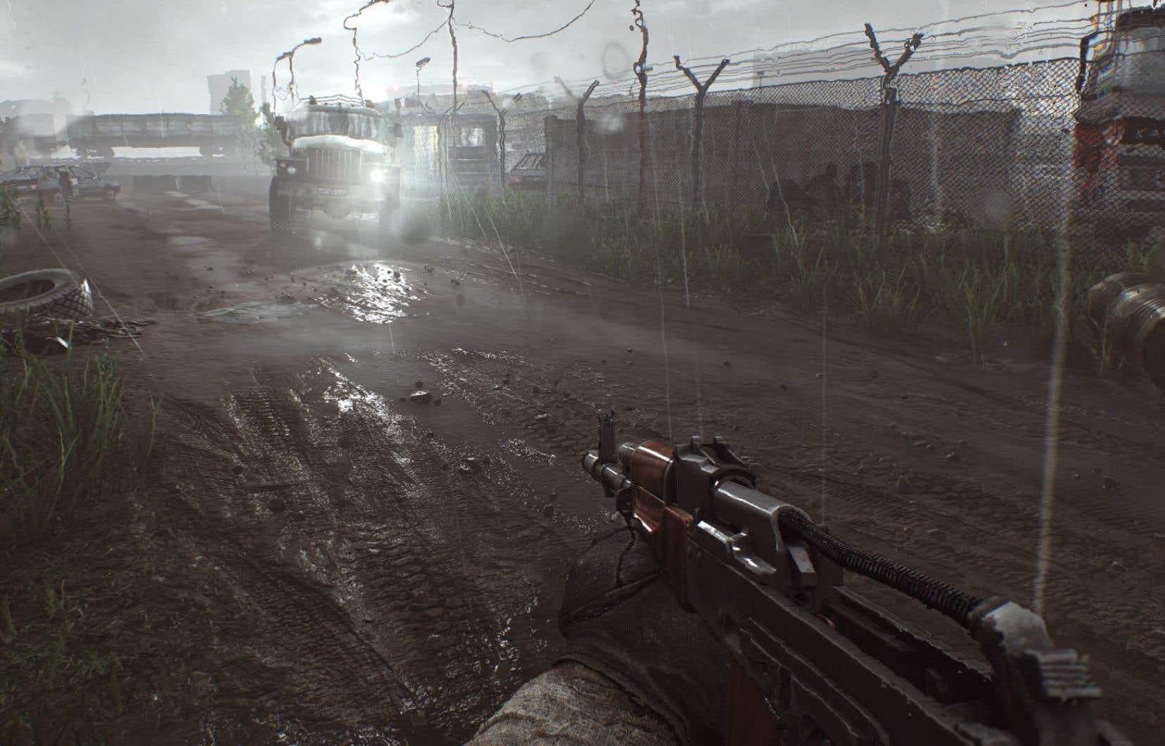 Jeu «Escape From Tarkov» du studio russe Battlestate Games