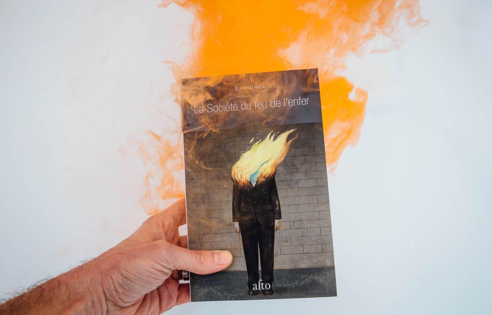 «La société du feu de l'enfer», la subversive nouvelle offrande de l'auteur montréalais d'origine libanaise Rawi Hage, nous entraîne sur les traces de Pavlov.