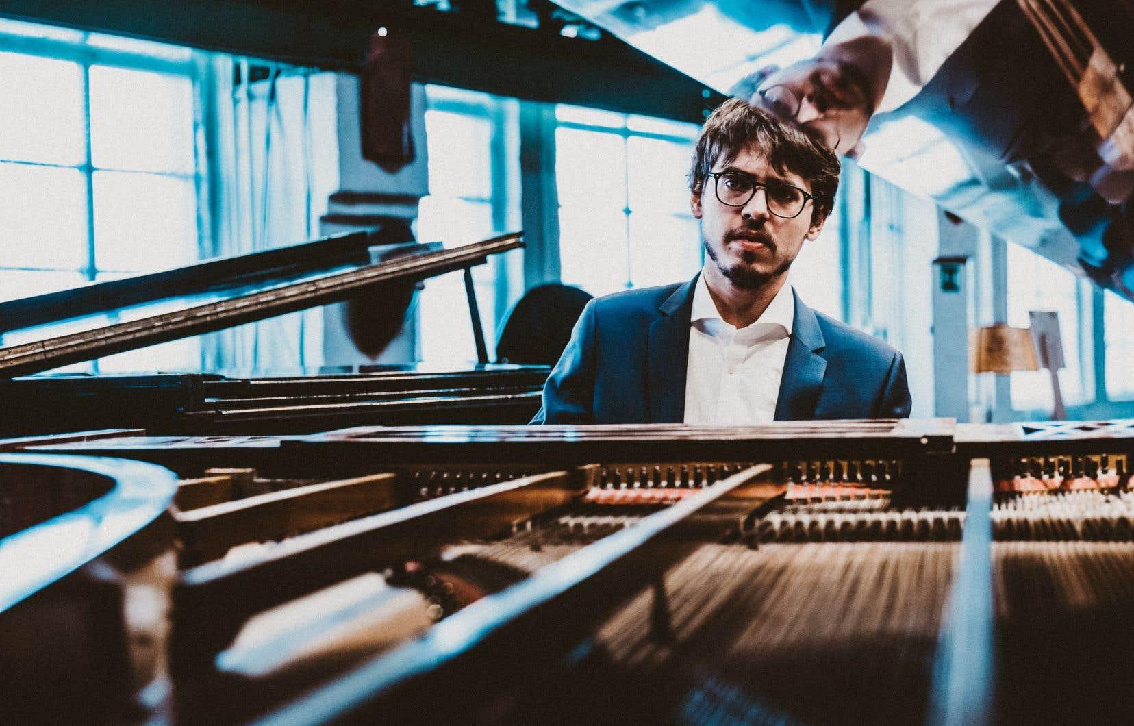 Dans l'interprétation des sonates, le pianiste n'a pas voulu saupoudrer son ego: «J'ai vraiment cherché une lecture claire».