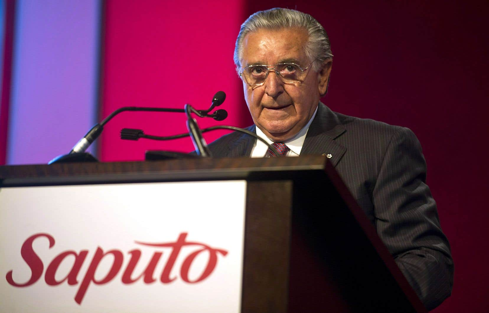 Lino Saputo a toujours nié avoir entretenu la moindre relation avec le monde interlope, y compris dans l'autobiographie qu'il a publiée cet automne.