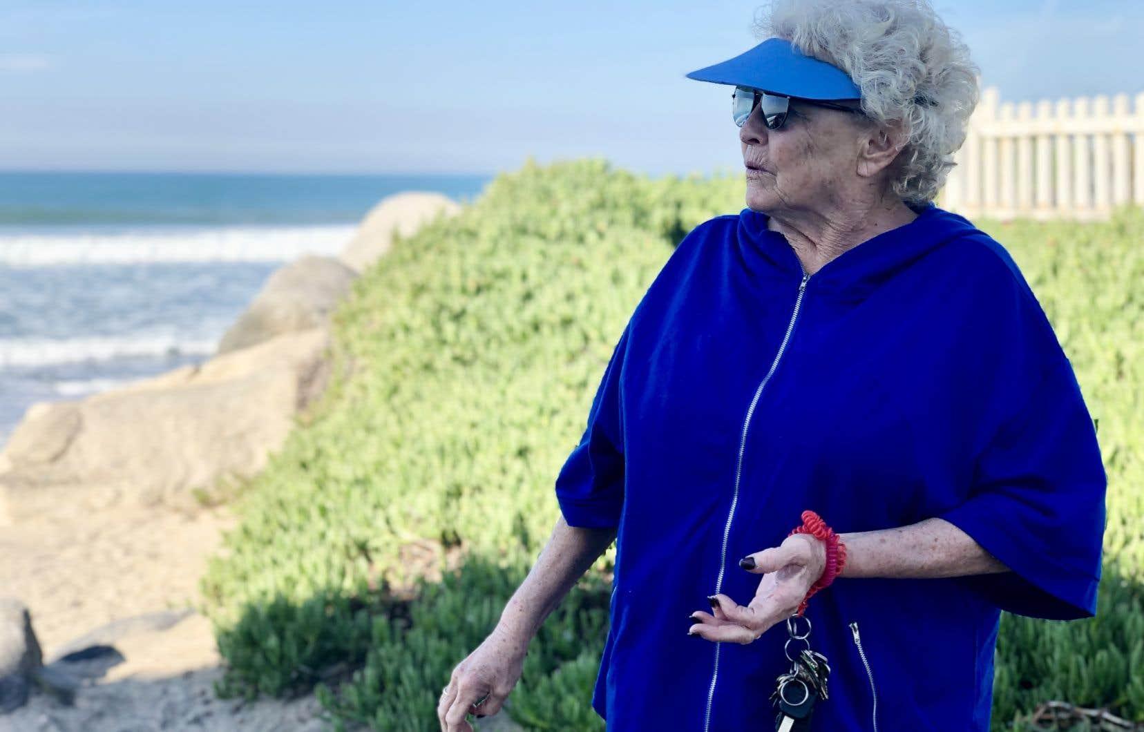 Karen a élu domicile à Imperial Beach à moins de 10 km à vol d'oiseau au nord de la frontière américano-mexicaine. Et bien que l'océan se trouve dans sa cour, elle n'y a pas mis les pieds depuis vingt ans.