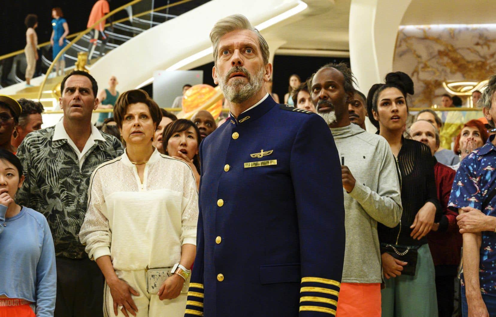 L'excellent acteur anglais Hugh Laurie revient ici dans une prestation de premier plan.