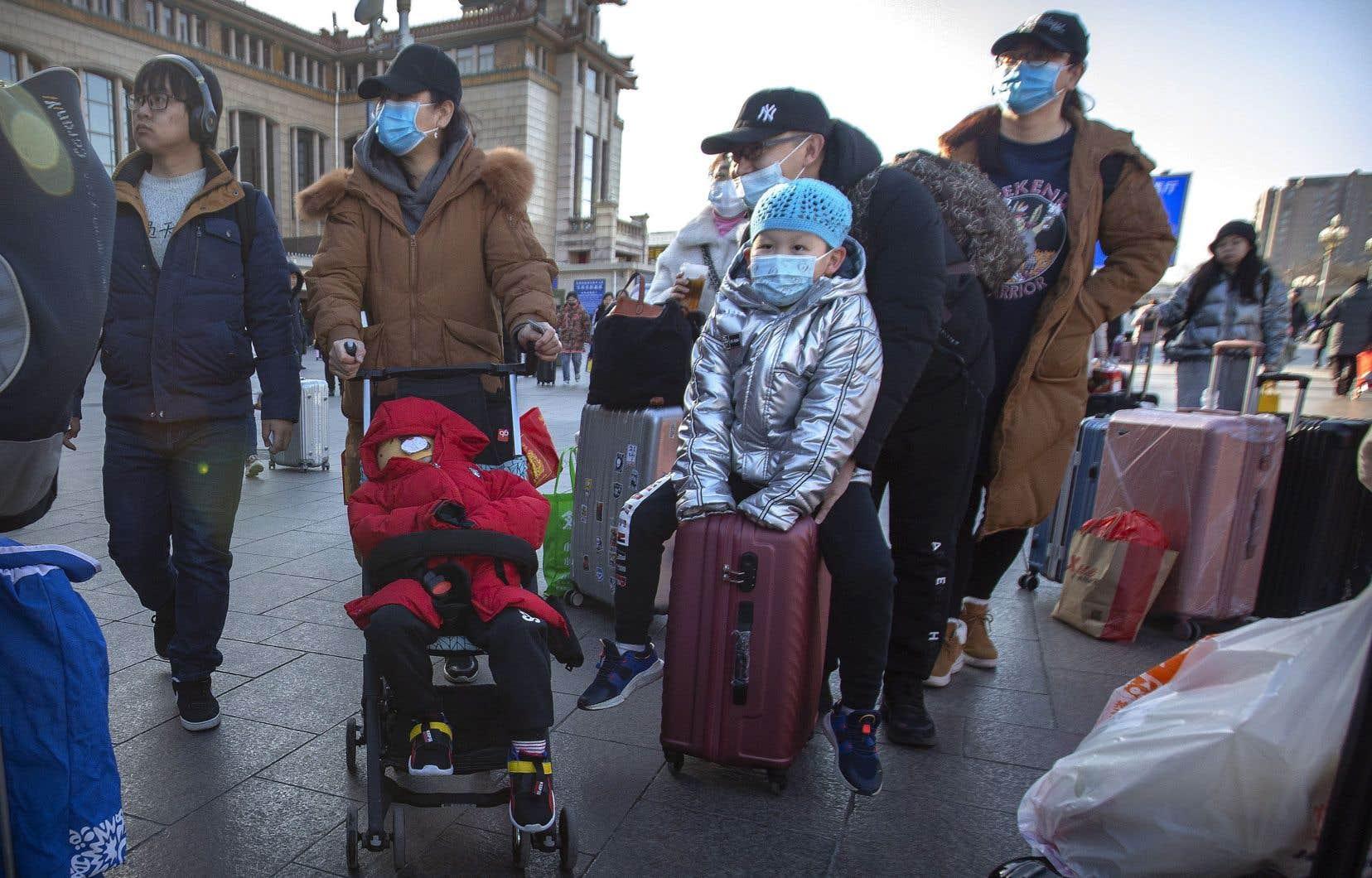 Un nouveau coronavirus sévit en Chine, alors que des millions de voyageurs se déplacent pour les fêtes du Nouvel An.