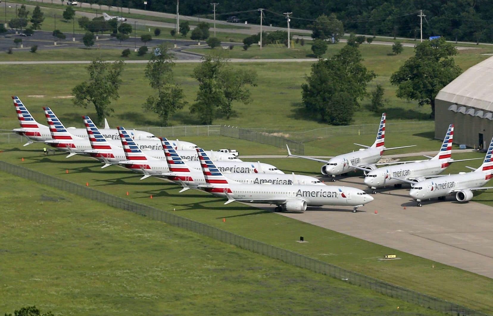 La compagnie American Airlines avait annulé les vols de Boeing 737 MAX jusqu'au début de juin et devrait par conséquent revoir ce calendrier.