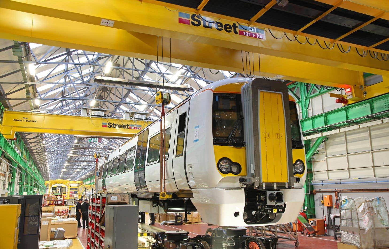 Bombardier et Alstom songeraient à combiner leurs activités de matériel roulant.