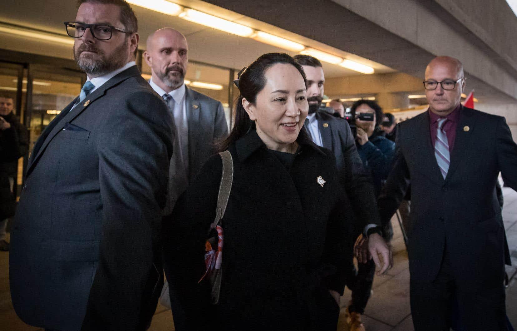 Meng Wanzhouavait été arrêtée en décembre 2018 à l'aéroport de Vancouver, à la demande des États-Unis.