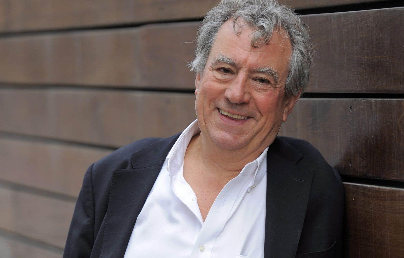 Terry Jones, membre du légendaire groupe humoristique Monty Python, en 2012.