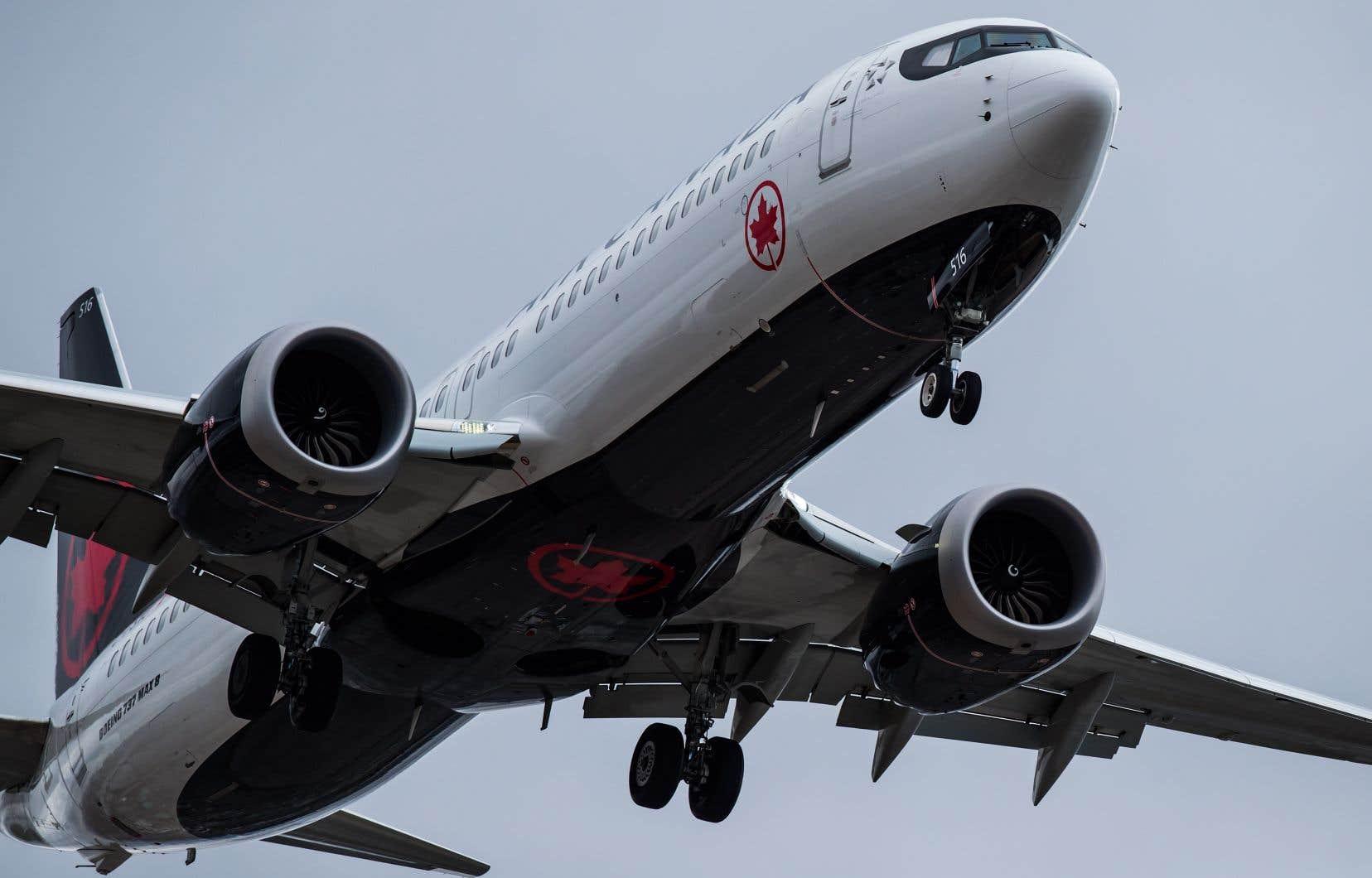 Air Canada avait précédemment choisi de repousser le retour de l'avion au 31mars.