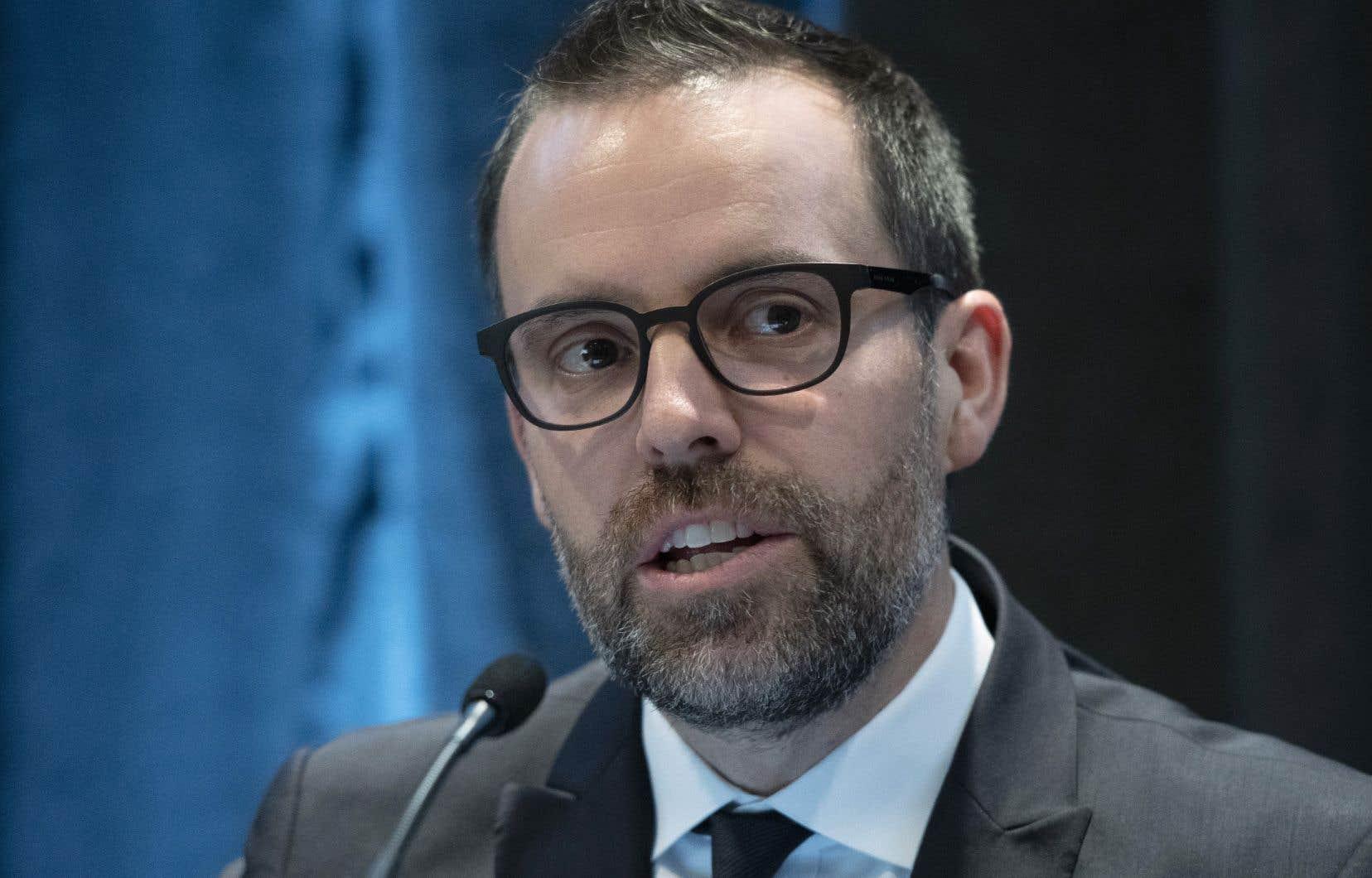 Le nouveau commissaire de l'UPAC, Frédérick Gaudreau