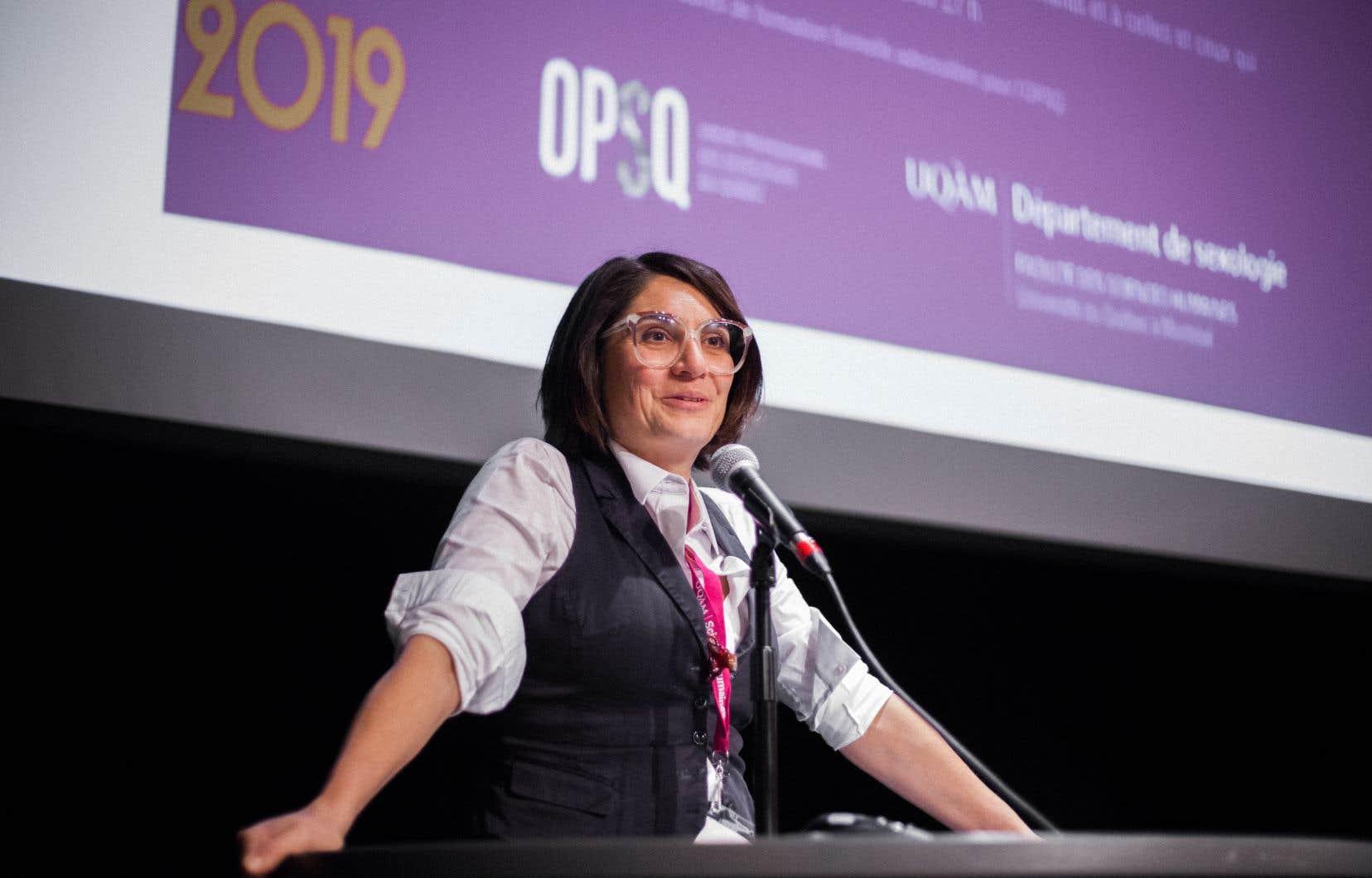 Les 50 ans de la sexologie à l'UQAM ont été soulignés lors d'un congrès en novembre dernier. La professeure Denise Medico a animé le panel de discussion.