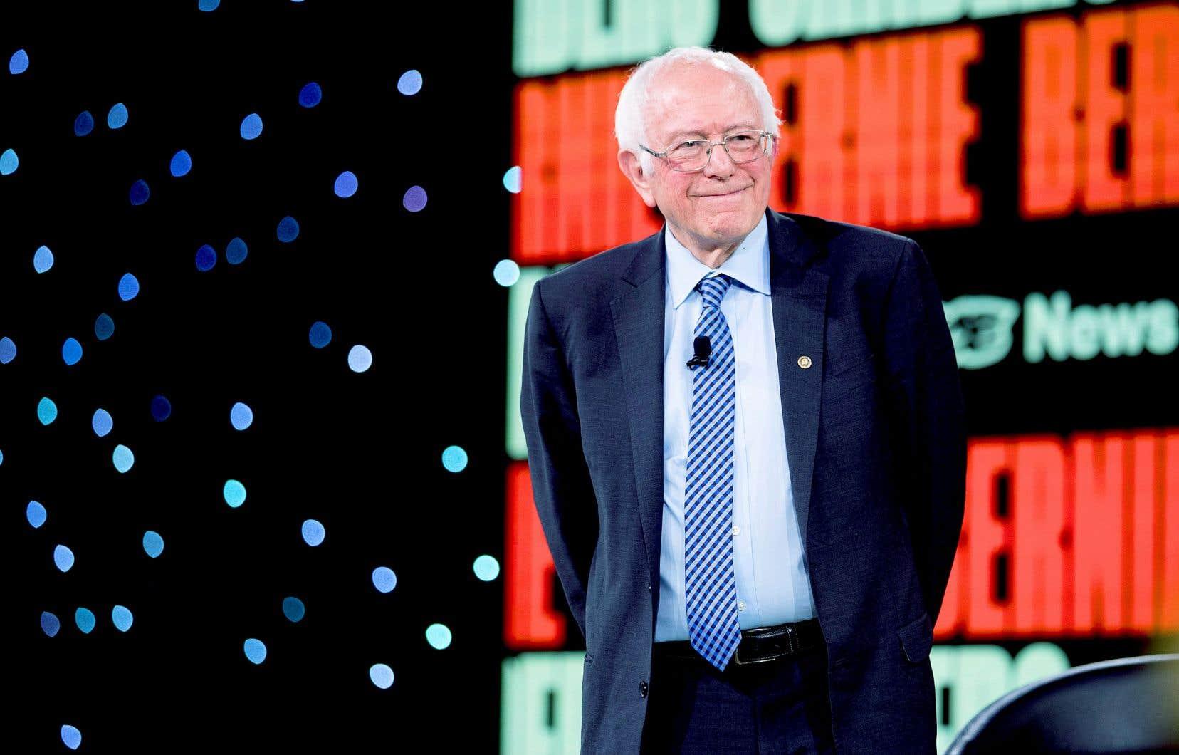 Bernie Sanders (photo) et Joe Biden s'échangent la première position des intentions de vote selon deux sondages publiés mercredi.