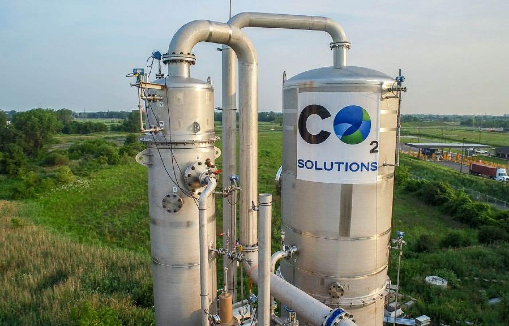 Les actifs de CO2 Solutions ont été vendus à deux sociétés, soit l'italienne Saipem et la canadienne Parachem.