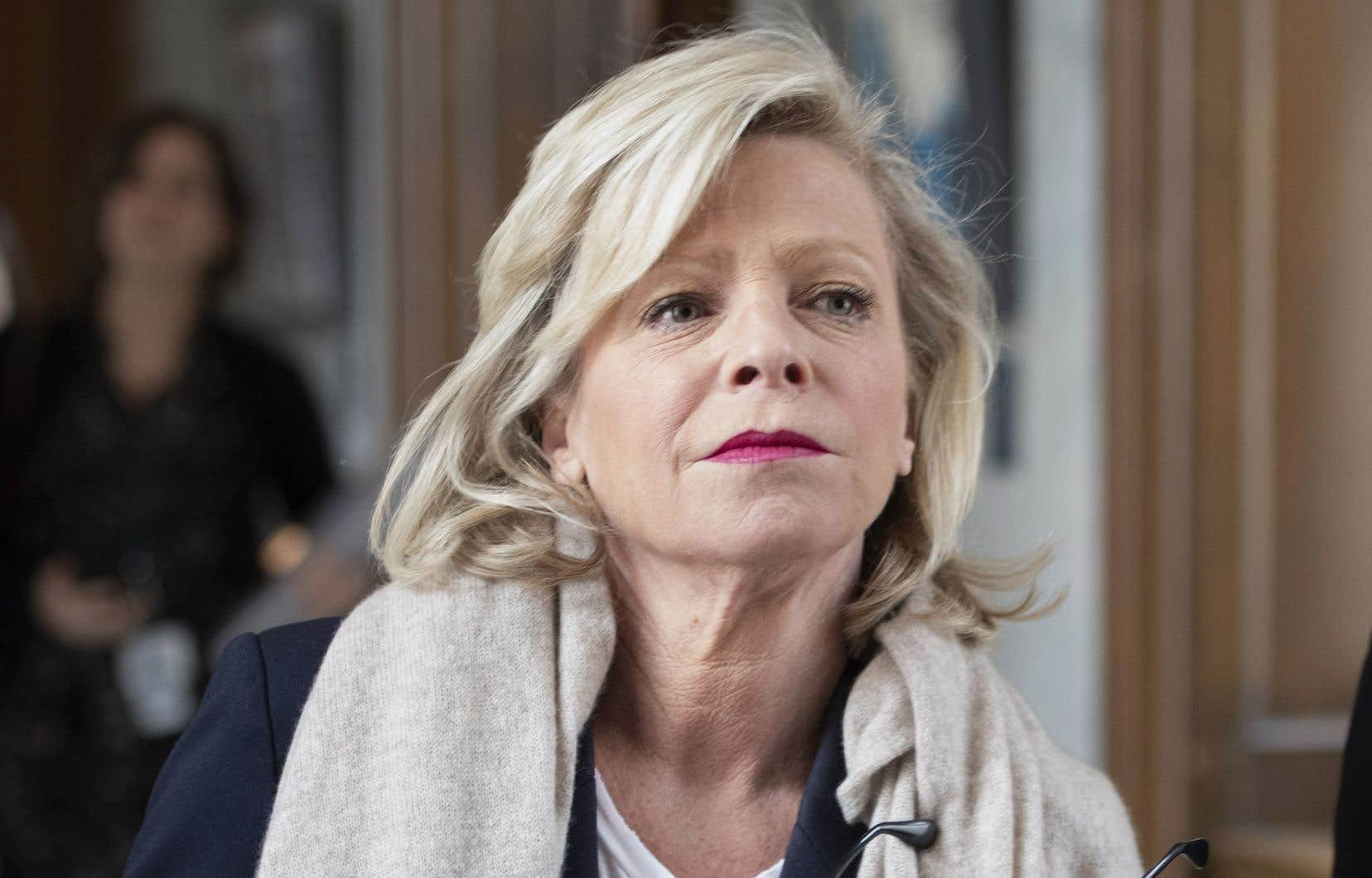 La ministre du Tourisme, Caroline Proulx